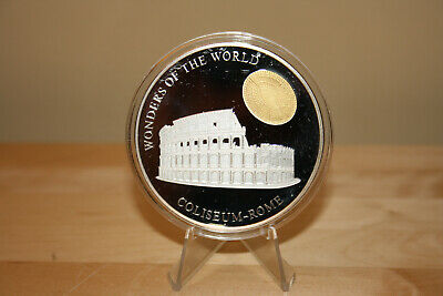 $ CDN495.95 • Buy 2003 - 5 Oz. Coliseum Commemorative 99.999 Fine Silver Proof Coin