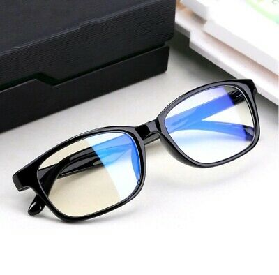 Gaming Glasses New Anti Fatigue Glare Clear Lens PC Gamers Blue Light Block HD • 5.99£