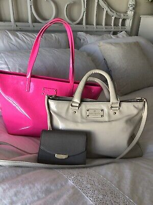 $44.99 • Buy KATE SPADE LOT 3 PURSE HAND BAG WALLET. Used.