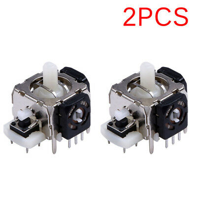 $11.55 • Buy 2PCS Replacement 3D Joystick Analog Stick For Xbox 360 Wireless ControllerBLU PU