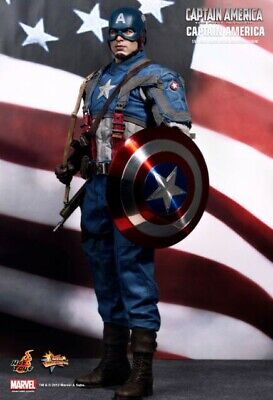 $200 • Buy Captain America First Avenger Hot Toys Collectible Figurine