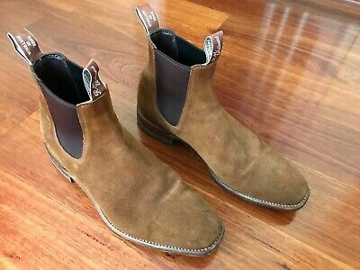 AU127.50 • Buy RM Williams Craftsman Suede 11 G Boots