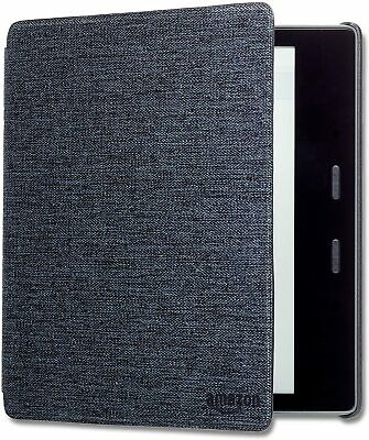AU89.85 • Buy Kindle Oasis Water-Safe Fabric Cover (9th & 10th Generation) - Charcoal Black