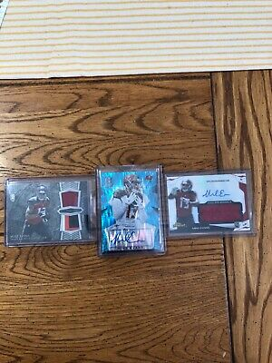 $ CDN14.09 • Buy Mike Evans AUTO/JERSEY LOT 2014 TOPPS FINEST BOWMAN STERLING 2015 SPECTRA /50 🔥