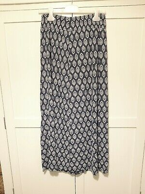Fat Face Ethnic Pattern Stretchy Maxi Skirt. Size S. • 7.99£