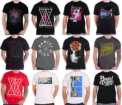 Official Panic At The Disco T Shirt Band Logo Panic! PATD Prey For The Wicked • 6.99£