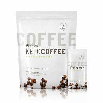 $37 • Buy It Works! Keto Coffee® Packets 15 Packets NEW SEALED