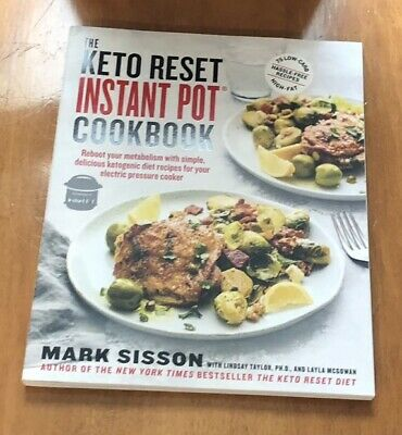 $7.95 • Buy Keto Reset Instant Pot Cookbook By Mark Sisson Paperback