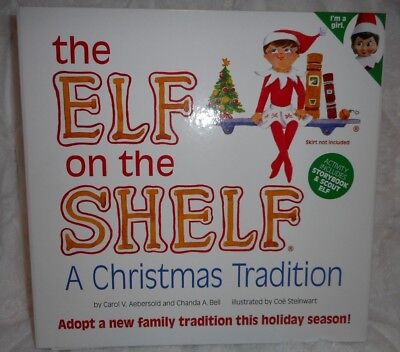 AU32.89 • Buy The Elf On The Shelf Storybook & Girl Scout Elf Doll Christmas Tradition Set New