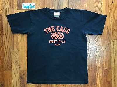 $ CDN14.14 • Buy 2005 Vintage Nike Battlegrounds The Cage West 4th ST NYC SS Shirt Boys M 10-12