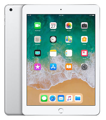 AU362 • Buy Apple IPad 6 32GB, Wi-Fi, 9.7in - Silver (AU Stock)+FREE Charger And Cable