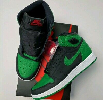 $169 • Buy New Nike Air Jordan 1 Retro High PINE GREEN SIZE 7Y GS