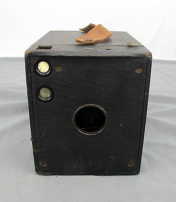 Vintage Old Box Photography Camera Working Shutter, Untested • 22.25£
