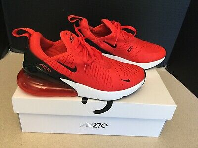 $110 • Buy Womens Nike Air Max 270 Crimson Red Running Shoes. Size 7.5. Worn Once!!!