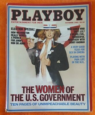 $ CDN9.80 • Buy Playboy Mens Magazine November 1980 Jeana Tomasino Larry Hagman Interview