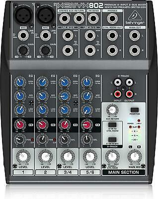 Behringer Xenyx 802 Analog Mixer New In Box • 117.43£