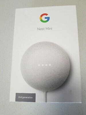 AU38 • Buy Google Nest Mini (2nd Generation) Smart Speaker - Chalk