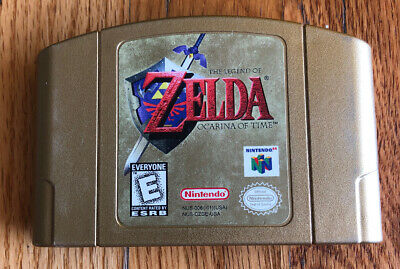 $48.99 • Buy Nintendo Legend Of Zelda Ocarina Of Time N64 GOLD Collector's Edition AUTHENTIC
