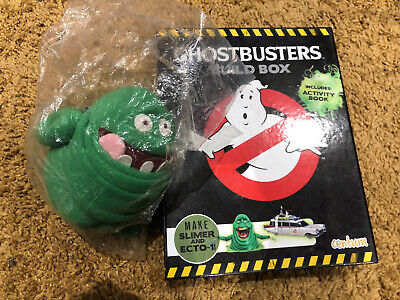 Ghostbusters Build Box Make Slimer And Ecto-1! With Slimer Plush  Crafts • 11.99£