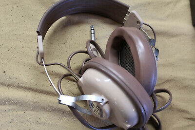 TELEX Stereo-Twin ST-10 Headphones Retro Style Vintage- Parts Or Repair • 7.45£