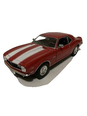$10.99 • Buy Welly 1:24 Scale 1968 Chevrolet Camaro Z28 Diecast Car - Red