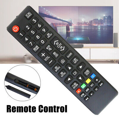 AU5.99 • Buy For Samsung TV BN59-01247A Replacement Remote Control Black