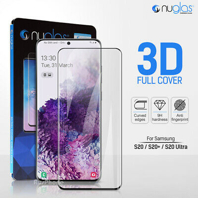 AU8.95 • Buy For Samsung Galaxy S20+ Note 20 Ultra 5G NUGLAS Tempered Glass Screen Protector