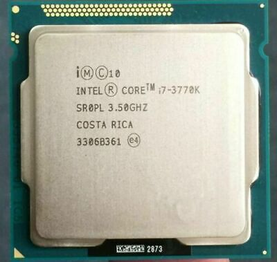Intel I7-3770K CPU 3.5 GHz Quad-Core CPU Processor 8M 77W LGA 1155 4 Cores SR0PL • 108.88£