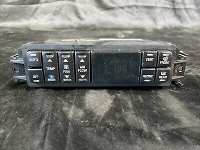 $69.95 • Buy 2000-2005 Buick Lesabre Digital AUTO Heater A/C Climate Control #16236054 OEM