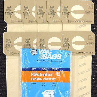 $11.99 • Buy 12 Bags For Electrolux Upright Vacuum Cleaner  STYLE U Made In America