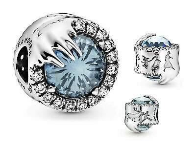 Genuine Pandora Disney Frozen Winter Crystal Charm 798458C01 Silver ALE 925 • 15.99£