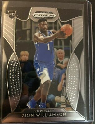 $1.49 • Buy Zion Williamson 2019-20 Panini Prizm Blue Jersey Rookie Rc #64 Pelicans Hot