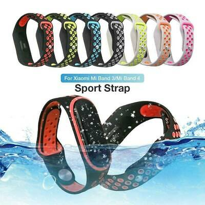 $2.39 • Buy For Xiaomi Mi Band 3 4 Strap Band Wristband Watch Replacement Bracelet Silicone