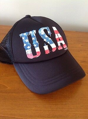 $10 • Buy O'Neill-Hat-USA-BLACK-Cap-Hat-Vented-Back-NWT