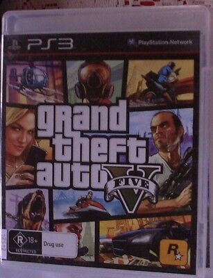 AU14.95 • Buy Grand Theft Auto V (Five) - Sony PS3 PAL - 30 DAYS WARRANTY.