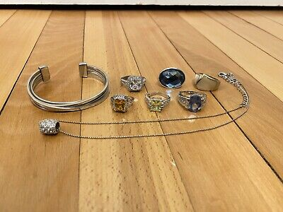 $ CDN66.66 • Buy Lia Sophia Rings Necklace Bangle Bracelet Ring Lot
