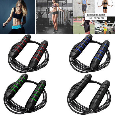 £4.69 • Buy Skipping Rope Children Steel Weight Loss Exercise Jumping Game Fitness Adult Kid