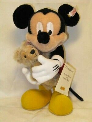 $1890 • Buy 2006 Steiff WDW Limited Mickey Mouse With Duffy Plush Toy Free Shipping Japan