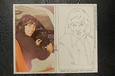 GEORGE BEST MANCHESTER UNITED SMITHS POTATO CRISPS 1970's PICTURE CARD No7 • 49.95£