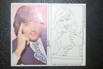 GEORGE BEST MANCHESTER UNITED SMITHS POTATO CRISPS 1970's PICTURE CARD No6 • 29.95£