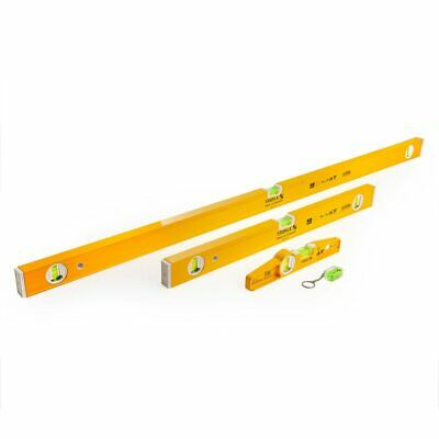 Stabila 1200mm / 600mm / 250mm Spirit Level Set And Keyring With Case (17530) • 72£