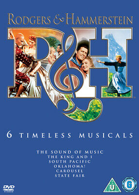 £4.41 • Buy Rodgers And Hammerstein: 6 Timeless Musicals DVD (2008) Gordon MacRae, King