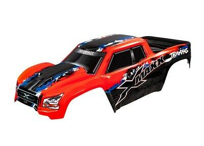 AU143.23 • Buy Traxxas Red X-Maxx Body - TRA7811R
