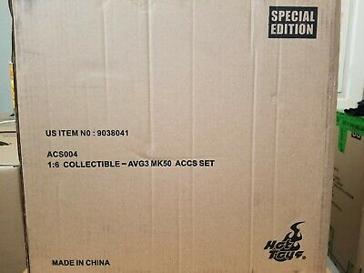 $ CDN334.07 • Buy Ready! Hot Toys ACS004 Infinity War Iron Man Mark L 50 Accessories Set Special