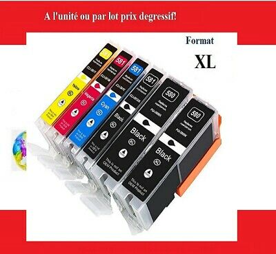 AU54.36 • Buy Compatible Ink Cartridges Canon 580 And 581 XXL Pixma Tr And Ts Express