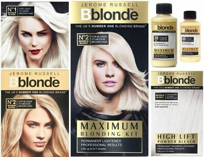 Jerome Russell Bblonde Maximum Blonding Highlighting Permanent Colour Toning  • 4.49£
