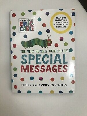 £7.50 • Buy The Very Hungry Caterpillar Thank You Letters Invites Awards Paper Cards