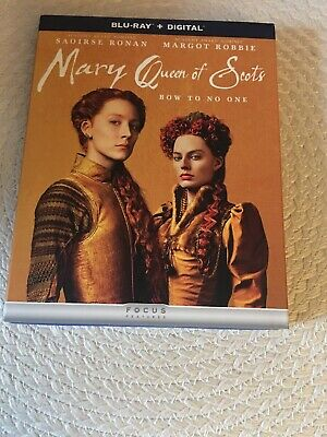 $14 • Buy Mary Queen Of Scots (Blu-ray Disc, 2019, Includes Digital Copy) Excellent