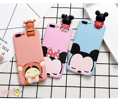AU5.95 • Buy AU Disney Mickey Mouse Minnie Soft Cute Phone Case For Iphone 6 6s 7 8 Plus X Xs