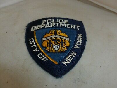 American Police Usa Badge/patch City Of New York • 4.95£
